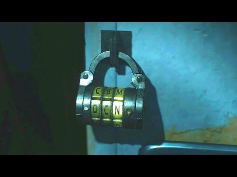 Resident Evil 2 Dial Lock 2f Mens Locker Room 3f Locker Combination Youtube
