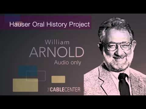 William Arnold: Oral and Video History Collection Interview
