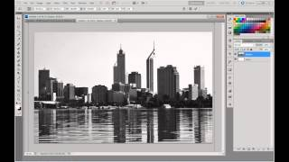 "How to make a ""Black n' White Skyline"" Tutorial"