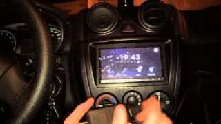 видео Китайские магнитолы Андроид 2 din с прошивкой и навигацией: ремонт, инструкция