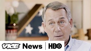 John Boehner Talks To Shane Smith About Bernie, Hillary And Trump (HBO)