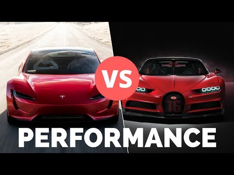Tesla Roadster 2020 vs Supercars - Will it...