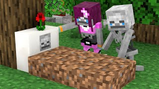 Monster School : Baby Skeleton and Dog Life - Story Minecraft Animation