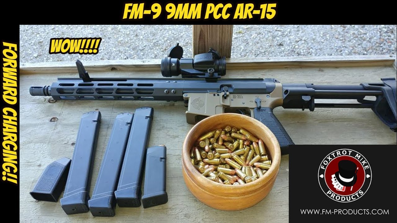 fm products fm9 - 9mm ar15 pcc foxtrot mike
