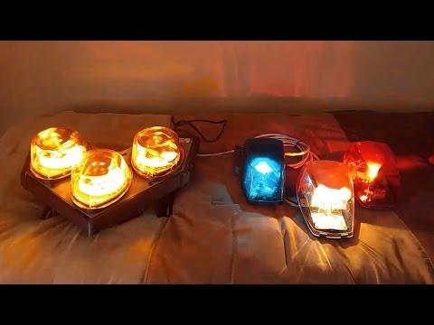 federal signal vision slr vector halogen mini lightbars. Black Bedroom Furniture Sets. Home Design Ideas