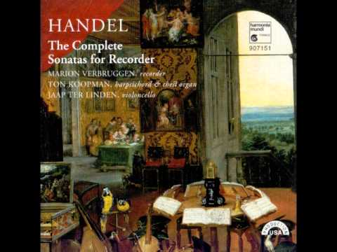 Handel The Complete Sonatas for Recorder
