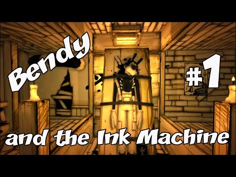 Bendy and the Ink Machine Первая часть Обновленная версия
