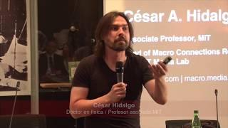 Charla de César Hidalgo en la Cámara de Diputados de Chile