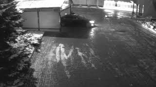 Автомобиль Улюкаева выезжает из гаража «Роснефти» перед задержанием