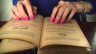 ASMR * Tapping & Scratching * Theme: Vintage Cookbooks * Fast Tapping * No Talking * ASMRVilla