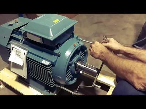 ABB, motor eléctrico de 45kw  - YouTube