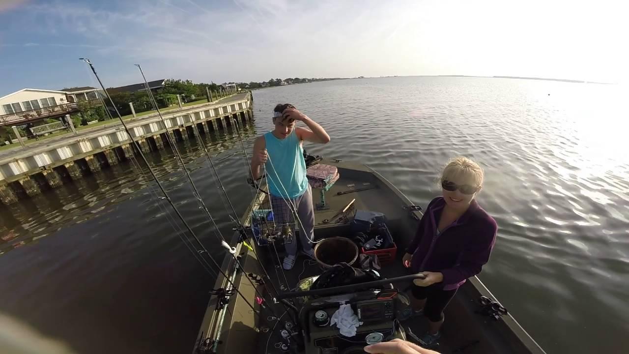 Crabbing, Fishing fun in Chincoteague, Virginia  August 7-14