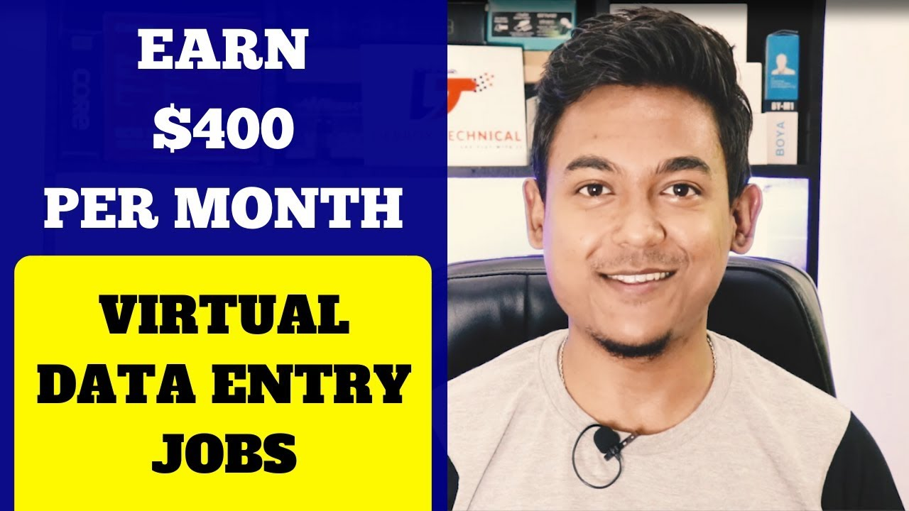Earn $400 Per Month Guaranteed Data Entry Virtual Work From Home Jobs By Xerox