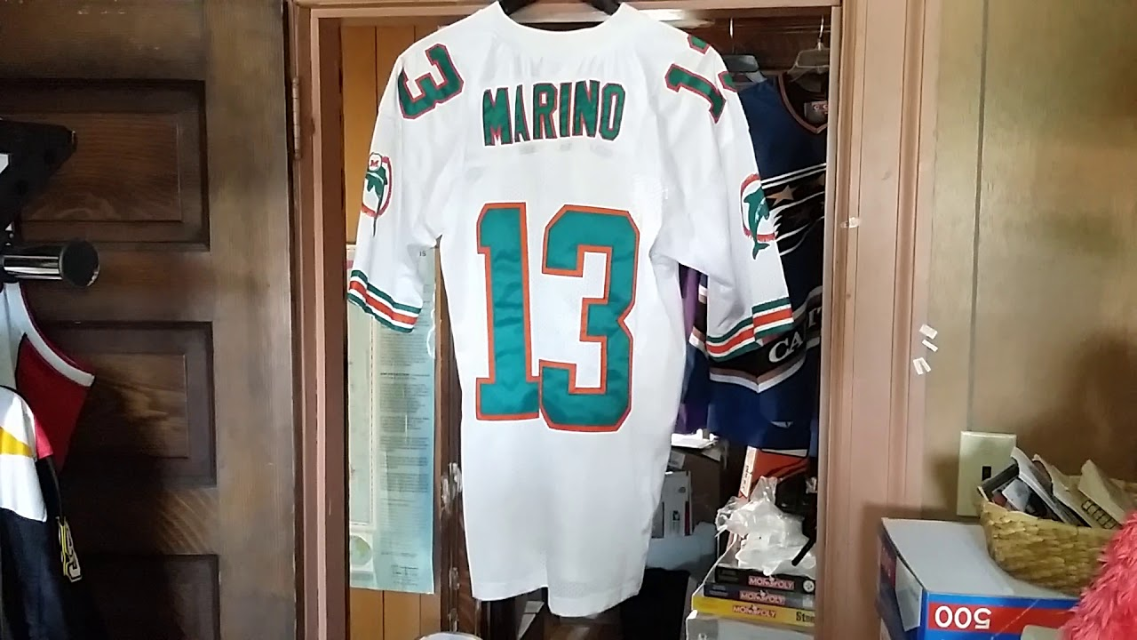 online store 45ef3 ce570 MIAMI DOLPHINS DAN MARINO 1994 HOME THROWBACK MITCHELL & NESS RETAIL  FOOTBALL JERSEY