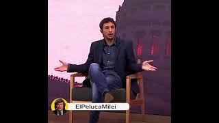 """""""SOS MASOQUISTA, SOS HINCHA DE RACING"""" - Javier Milei"""