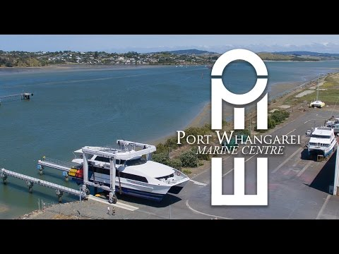 Port Whangarei Marine Centre Video
