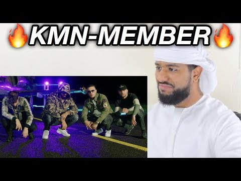 ARAB REACTION TO GERMAN RAP BY KMN GANG - KMN MEMBER **AZET IS DIFFERENT**