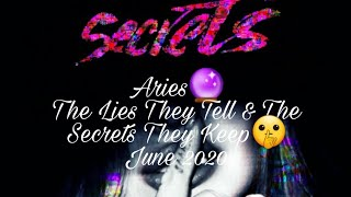 #Aries 🔮|The Lies They Tell & The Secrets They Keep 🤫| Clinging on for Dear Life 🧗🏽♀️