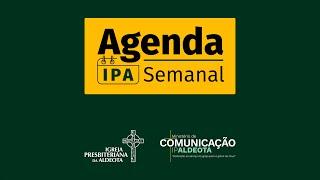 Agenda Semanal - 11 a 17/04 - IPAldeota