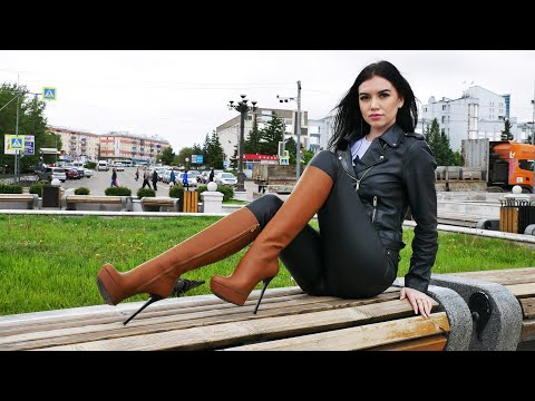 SEXY WOMEN'S BOOTS | SHOE SHINE ASMR | 4K | BINAURAL MICROPHONE from YouTube · Duration:  8 minutes 54 seconds