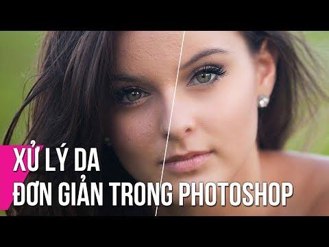 Xử Lý Da Đơn Giản Trong Photoshop | Thùy Uyên