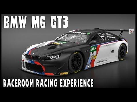 BMW M6 GT3 - Raceroom 10 lap race Hockenheim