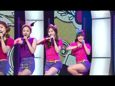 A Pink - It Girl, 에이핑크 - 잇 걸, Music Core 20110625