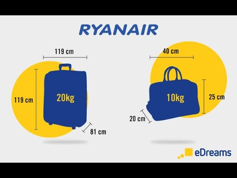 RyanAir Baggage Policy | Priority Boarding | Check-In (with Subtitles)