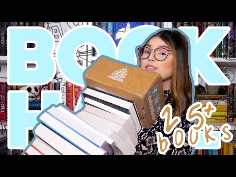 BIG book haul | fantasy books, special editions, owlcrate jr. unboxing and more ⚡️ 📚