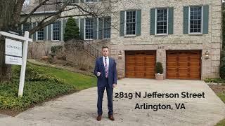 Just Listed: 2819 N Jefferson St Arlington VA