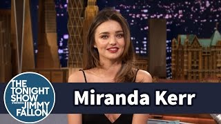 Miranda Kerr Teaches Jimmy Butt-Toning Exercises