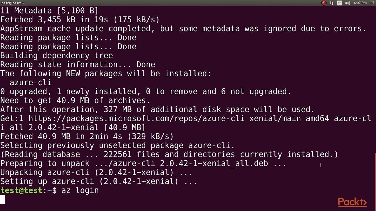 DevOps Fundamentals with Azure: Azure CLI 2 0|packtpub com