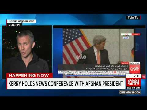 U.S Secretary Kerry's surprise trip to Afghanistan - why is he there?