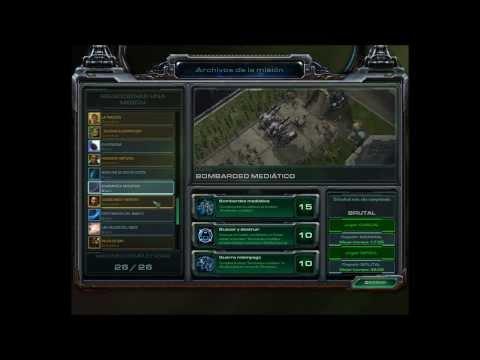 """Cómo desbloquear la misión secreta """"Perforación del manto""""  en Starcraft 2 Wings of liberty"""
