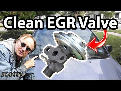 How to Clean EGR Valve in Your Car How It Works