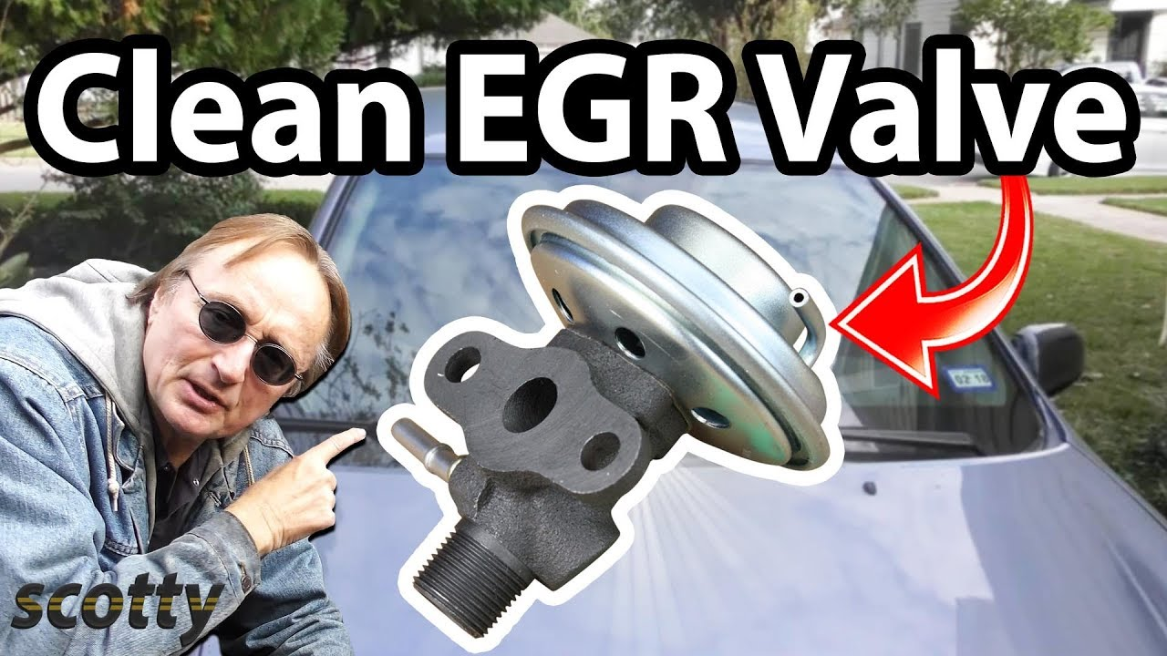 How to Clean EGR Valve in Your Car (How It Works)  YouTube