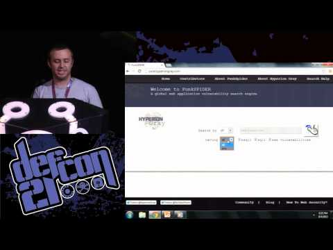 DEF CON 21 - Alejandro Caceres - Conducting massive attacks with open source distributed computing