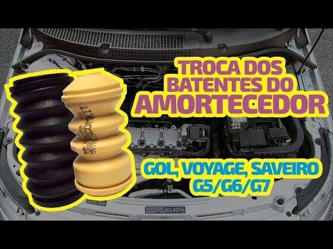 TROCA DOS BATENTES DO AMORTECEDOR GOL G5 | DCVÍDEOS