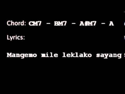 adimujiono - sipatokaan aransemen (with chord and lyric timing)