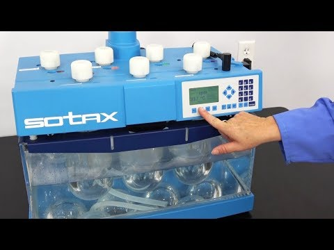Sotax AT 7smart Dissolution Testing System W/ 7 Dissolution Vessels And Probe