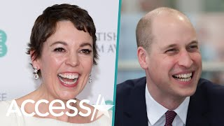 Prince William Gave 'The Crown' Star Olivia Colman A 'Firm' Answer When She Asked If He's Watched