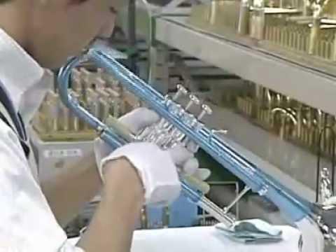The Yamaha Trumpet Factory