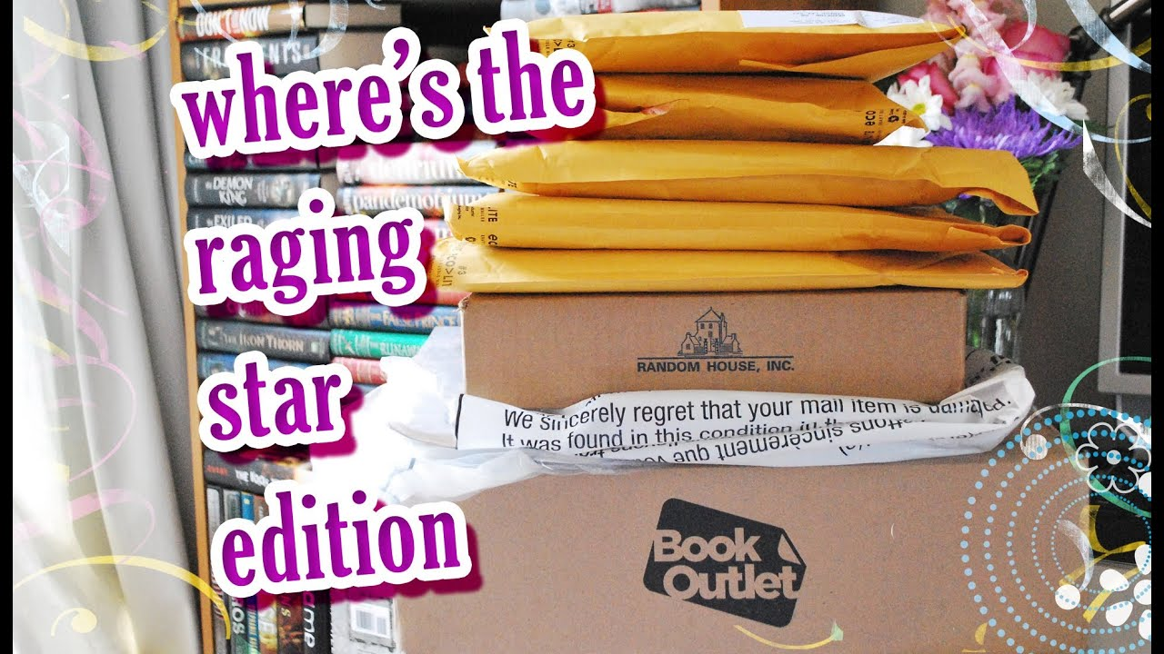 Book Haul Unboxing #71  Where's The Raging Star Edition (may 2014)