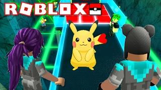 MY FIRST GYM + VALENTINE PIKACHU!!! | Pokémon Brick Bronze | ROBLOX w/ Thinknoodles