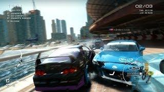 Dubai Street Race - GRID Autosport Gameplay