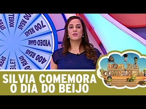 Bom Dia E Cia (13/04/16) - Silvia Abravanel Comemora O Dia Do Beijo