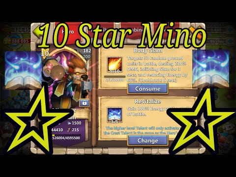 10 Star Minotaur Gameplay And Review - Castle Clash IGG