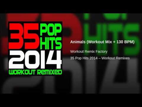 Animals (Workout Mix + 130 BPM)