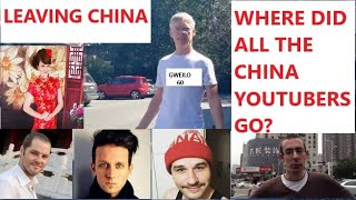 WHERE did all the CHINA VLOGGERS GO