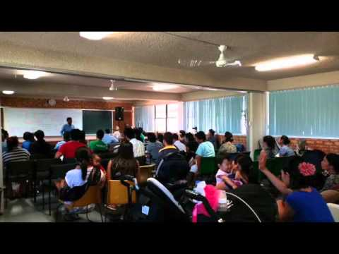 Saya San Toe Bible Study Brisbane Queensland Australia Part 7